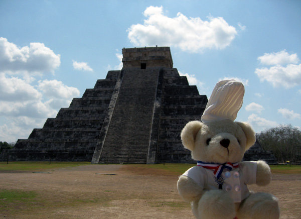 Bechamel Bear in Cancun Mexico.jpg