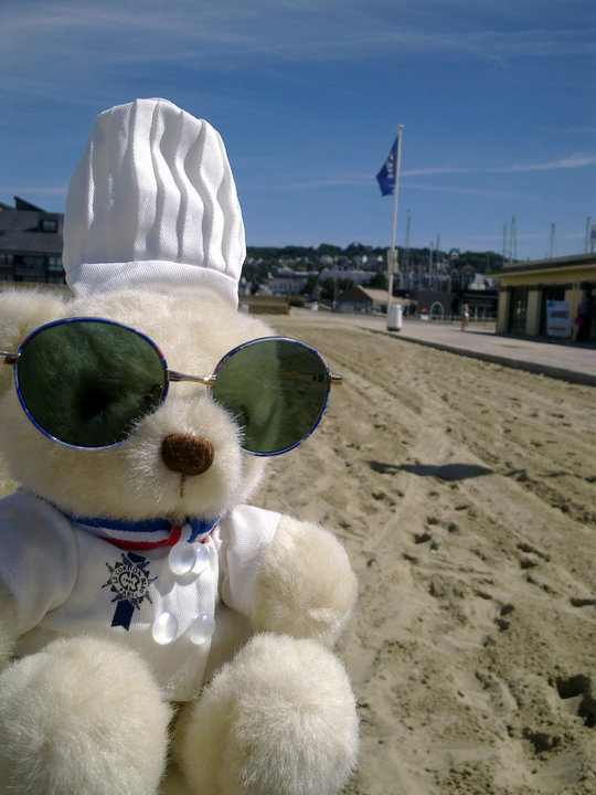 Bechamel Bear in Normandie France.jpg